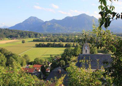 Aussicht vom Neubeurer Schloss