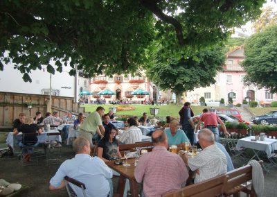 Biergarten in Neubeuern