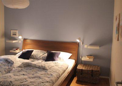 Ferienwohnung Zille Schlafzimmer