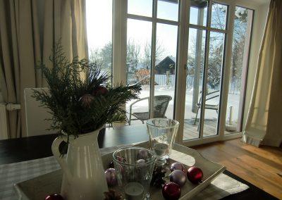 Ferienwohnung Zille im Winter